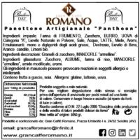 scheda panettone pantheon